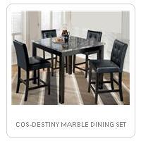 COS-DESTINY MARBLE DINING SET